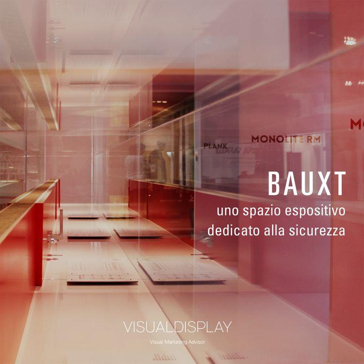 Progetto Stand #Bauxt #MadeExpo 2015 Milano ©http://www.visualdisplay.it/