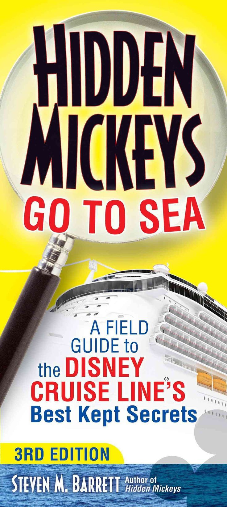 Camouflaged images of Mickey Mouse are hidden all around the Disney Cruise Lines four ships. Searching for them adds extra fun to any Disney cruise. In this new edition, Hidden Mickey Guy Barrett, bri