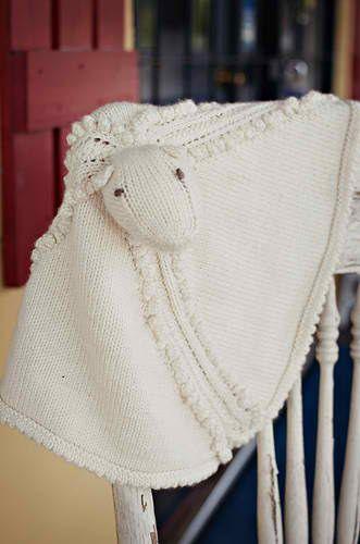 Knitting Pattern For Lovey Blanket : Noopy s Lovey Sheep Blanket: #knit #knitting #free # ...