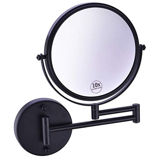 Material Makeup Mirror Wall Mount Is Made Of High Quality Brass And Stainless Steel Wi Wall Mounted Makeup Mirror Makeup Mirror Wall Mounted Magnifying Mirror