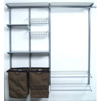 Triton Storability 66W x 63H in. Garment Wall Storage System - 1750