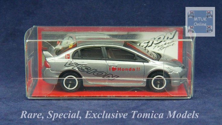 TOMICA 054I HONDA CIVIC FD2 TYPE-R   1/64   VISION TECHNICA EXCLUSIVE 2012 #JDM