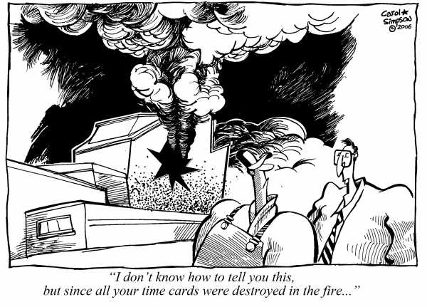 79 best Carol Simpson CartoonWork images on Pinterest Comic - time card
