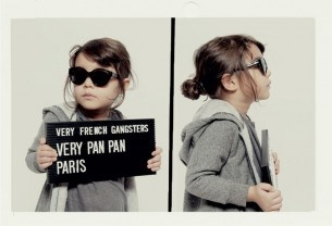 Very French Gangsters – eyewear for kids, but I love the promo idea, haha!