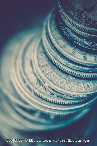 Trevillion Images - stack-of-old-coins