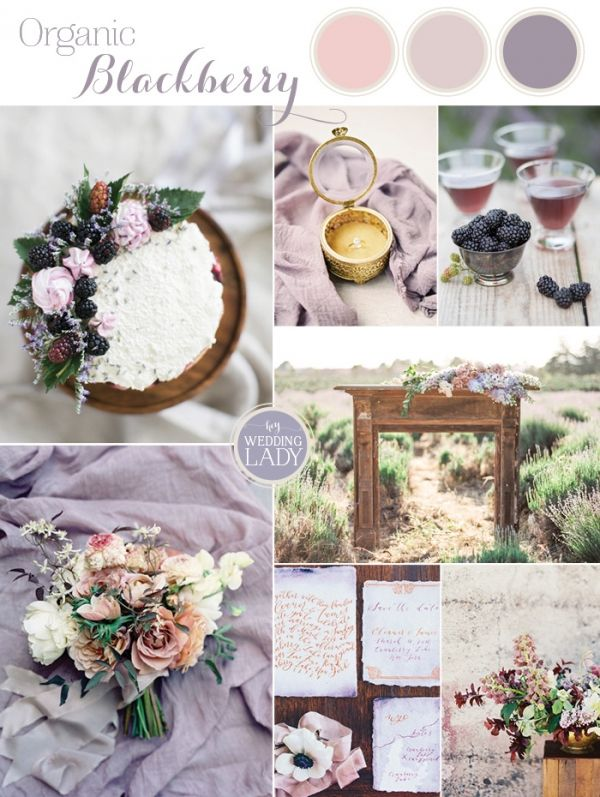 Relaxed Summer Wedding Inspiration in Blackberry and Lavender | http://heyweddinglady.com/relaxed-summer-wedding-blackberry-lavender/
