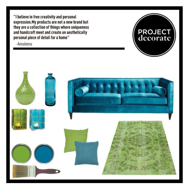 """""""Project Decorate: Aqua & Lime"""" by Hybrid-Rainbow on Polyvore."""