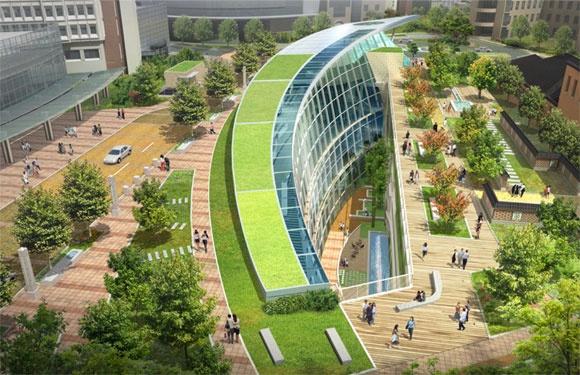 Seoul National University Hospital Medical Hall by Gresham Smith & Partners