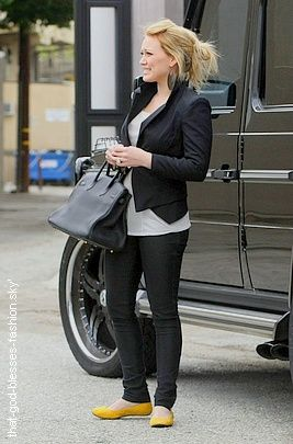 Hilary Duff's style