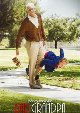 """86 year-old Irving Zisman is on a journey across America with the most unlikely companions, his 8 year-old Grandson Billy in Jackass Presents: Bad Grandpa."""" This October, the signature Jackass character Irving Zisman (Johnny Knoxville) and Billy (Jackson Nicoll) will take movie audiences along for the most insane hidden camera road trip ever captured on camera.  Along the way Irving will introduce the young and impressionable Billy to people, places and situations that give new meaning to…"""
