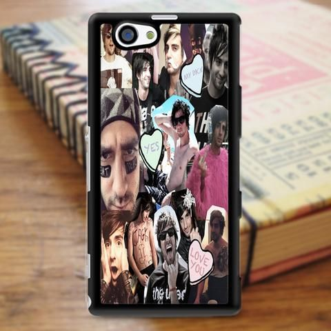 Fall Out Boy Collage Art Sony Experia Z3 Case