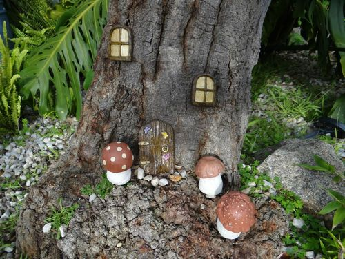 93 Best Images About Fairy Doors To Fairyland On Pinterest Gardens Trees And Ode To Joy