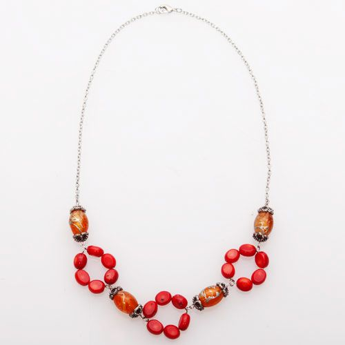 Red Magnifica Red Necklace