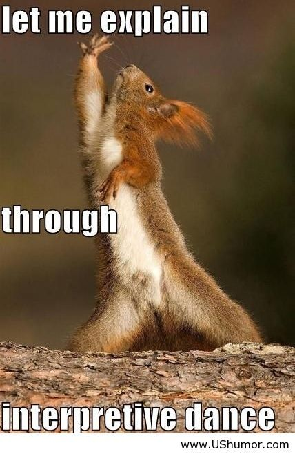 Interpretive dance - US Humor - Funny pictures, Quotes, Pics, Photos, Images