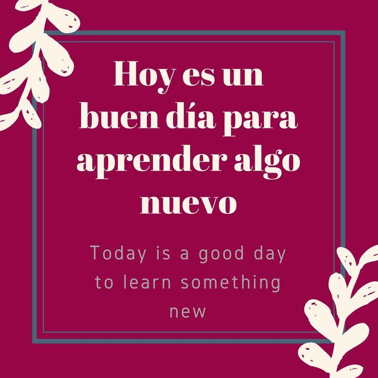 ¿Y por qué no algunas palabra en español? And why not some beautiful words in…