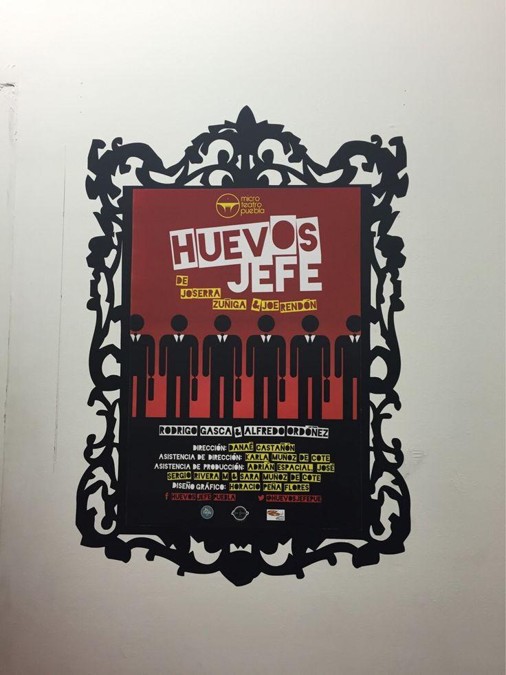 Vamos a mirar esta obra en #microteatro #puebla ... @huevosjefe