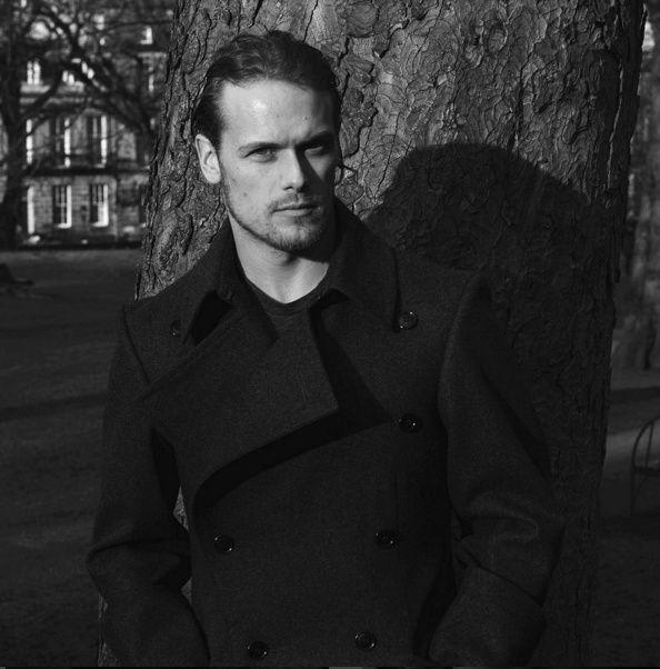 New Pics of Sam Heughan at Stewart Christie & Co Ltd | Outlander Online
