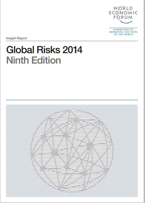 The ninth Edition of the Global Risks report, published Dec 2013. #wefreport #risk http://www.weforum.org/reports/global-risks-2014-report