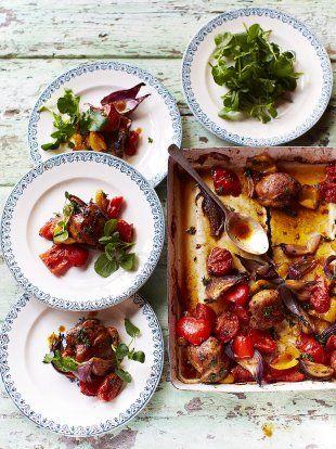 Hit 'n' run traybaked chicken   Jamie Oliver