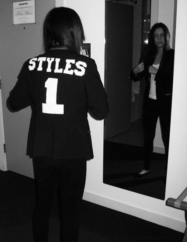 One Direction hand sewn Name Jackets - Harry Styles number 1 Blazer...... For Allicen