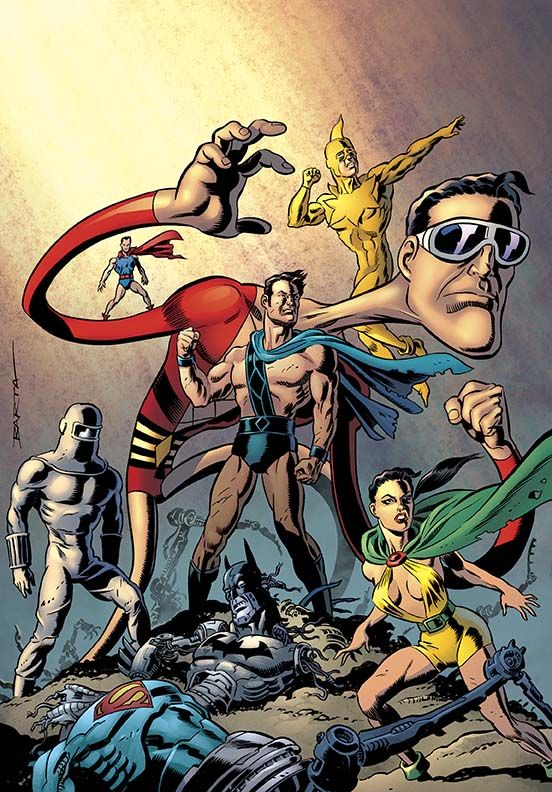 CONVERGENCE: PLASTIC MAN AND THE FREEDOM FIGHTERS #2 DC Comics May 2015 Covers and Solicitations - CONVERGENCE - Comic Vine