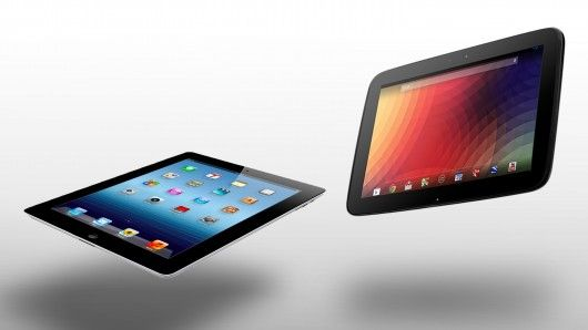 Battle of the pads... How does the Google/Samsung Nexus 10 compare to Apple's 4th-generation iPad?