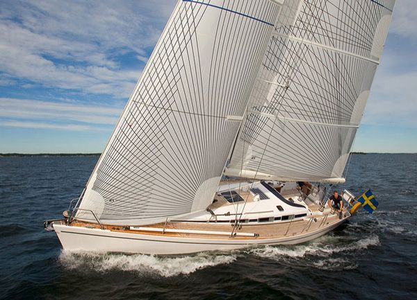 Charter sailing yacht Arcona 400 with 3 cabins and 6+2 berhts. Click for charter info: http://www.sailingeuropecharter.com/en/our-fleet/buy-a-yacht #sailing #yacht