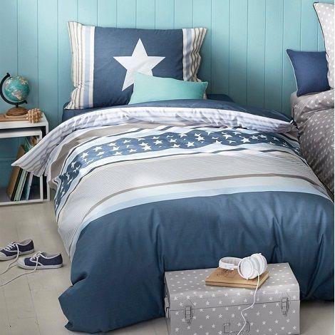 Parure de lit enfant - Nouvelle collection de linge de lit enfant printemps été 2015 Cyrillus