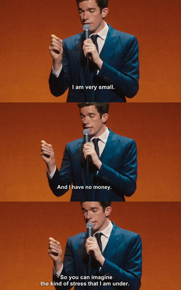 As always, Mulaney speaks to everyone's soul. | John Mulaney's New Stand-Up Special Will Make You Laugh Out Loud