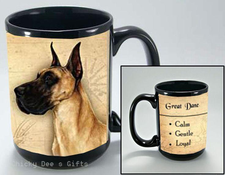 Pet Gits USA Great Dane My Faithful Friend 15 oz Mug