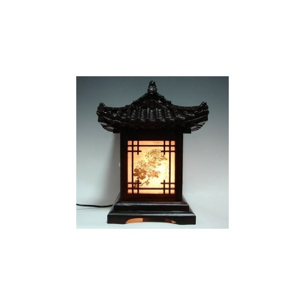 Wood Lamp Shade Handmade Traditional Korean House Design Art Lantern... ❤ liked on Polyvore