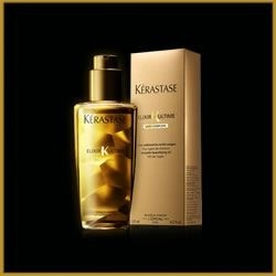 Kérastase Elixir Ultime 50ml: Want gorgeous locks? No problem with this desired, golden gem! SHOP it here: http://rubybox.co.za/the-collection-iv.html/?utm_source=pt.29apr.collection4_medium=sale.box_campaign=box+subscription