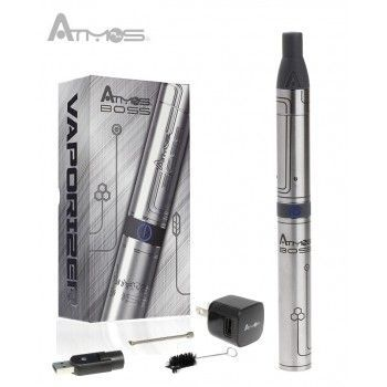 Buy Atmos Boss Vaporizer from Haze Smoke Shop of Vancouver Canada online and retail stores.The vaporizer kit has been designed to provide ultimate vaping experience. The stainless steel construction delivers the best state and vapor quality. You can fit in the dry aromatherapy material consumption. It features patent pending spring loaded connection, letting you attach and detach the parts easily.
