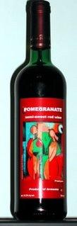 Proshyan Pomegranate Semi-Sweet Red Wine