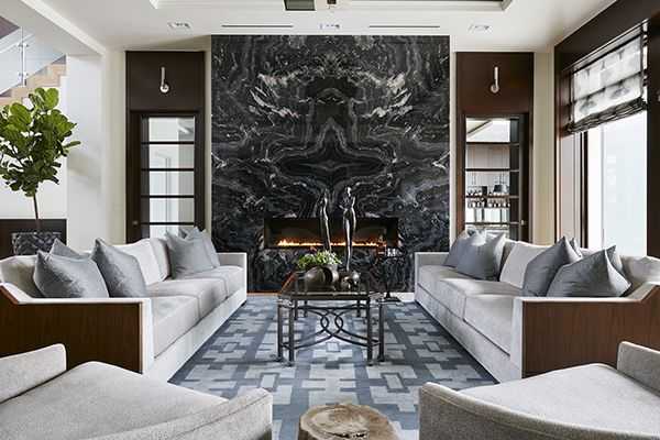 Spectacular granite fireplace wall!!!!!!!!!!!!!!!!