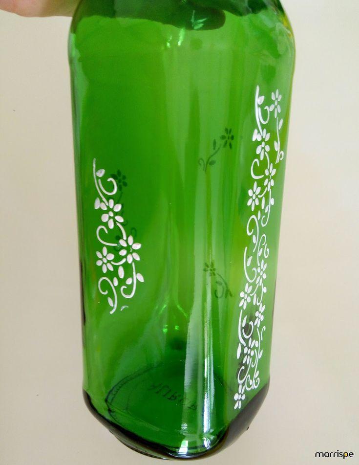 Dica bem simples pra você reciclar garrafas de vidro :D