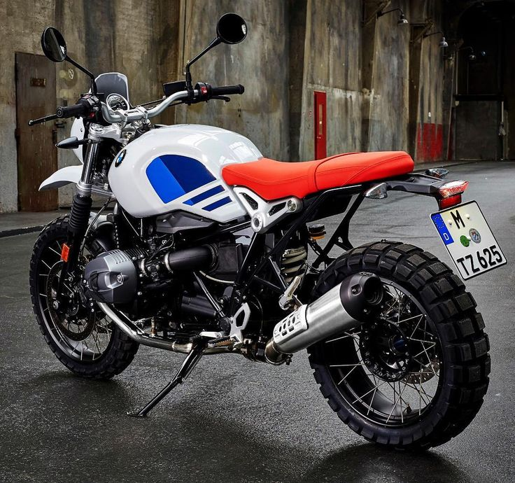 """5,592 Likes, 45 Comments - BMW Motorrad (@bmwbikes) on Instagram: """"BMW R nine T Urban GS a tribute to the first R 80 G/S from the 1980s. #bmwrninet…"""""""