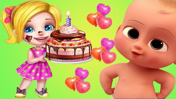 Baby Boss Learn To Cook Real Cake 3D Maker | Fun Cooking Kids Games  | K...