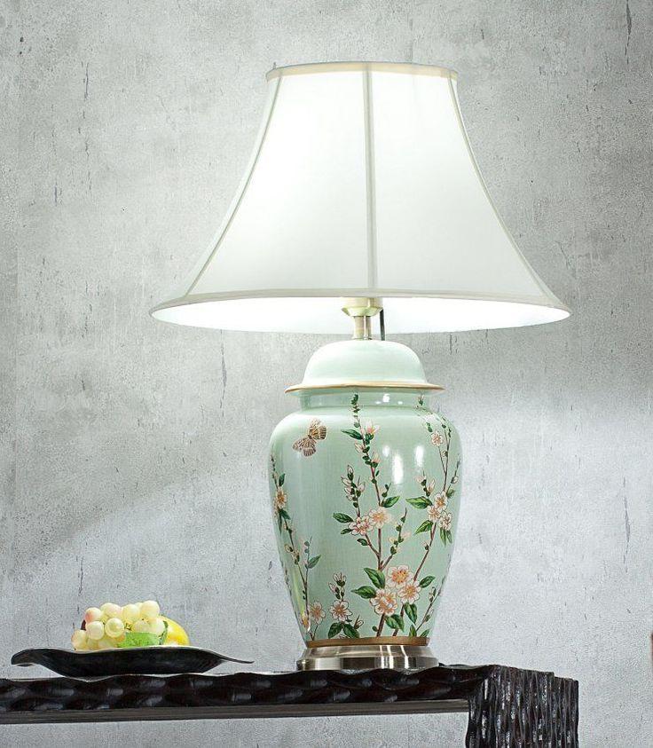 Lampa stołowa Miyuki ceramiczna 73cm   73cm #dekoracje #meble #furniture #lamp #lampy #interior #design #decoration #salon #livingroom #home