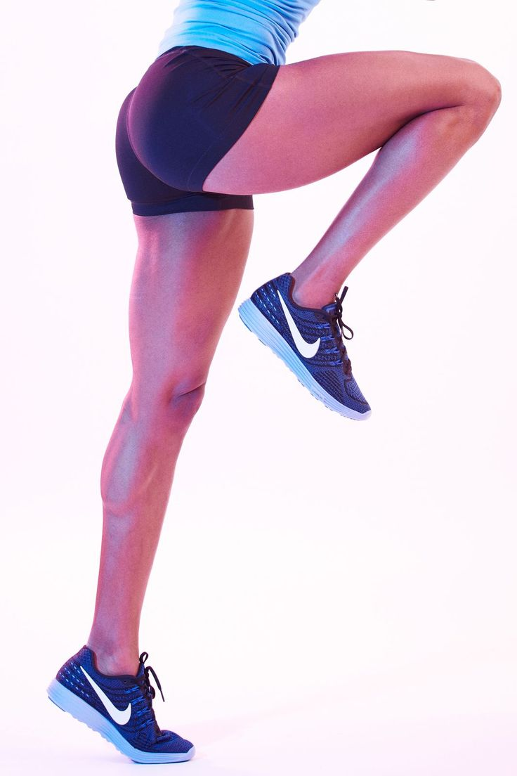 An Olympic Track Star Teaches You How To Run #refinery29  http://www.refinery29.uk/2016/01/101354/sanya-richards-ross-running-form-advice#slide-3  Toe-To-Heel, TotallyLand on your forefoot! Your heel should never make contact with the ground first. Even if you're not sprinting and only out for a light jog, you will cause injury if you heel strike. Be sure that you are in comfortable shoes and you land on your forefoot. It will make for a much better running experience. ...