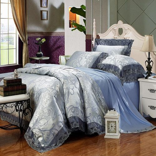 Best 10 Silver Bedding Sets Ideas On Pinterest Blue