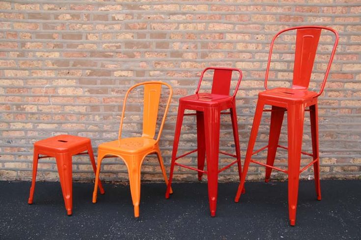 this place sells high-backed tolix bar chairs in every color.  future reference. LOVE!!!