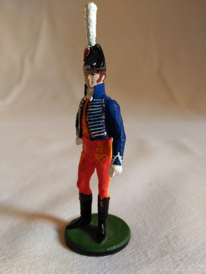 Juguetes Antiguos: Figura de plomo oficial militar. romanjuguetesymas. - Foto 3 - 56485832