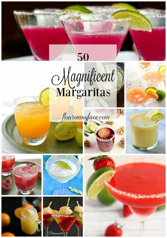 50 Magnificent Margarita Recipes to help you celebrate National Margarita Day on…