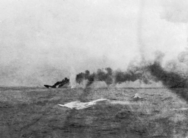 British battlecruiser HMS Indefatigable sunk during the Battle of Jutland. (Photo: Imperial War Museums/Wikimedia)