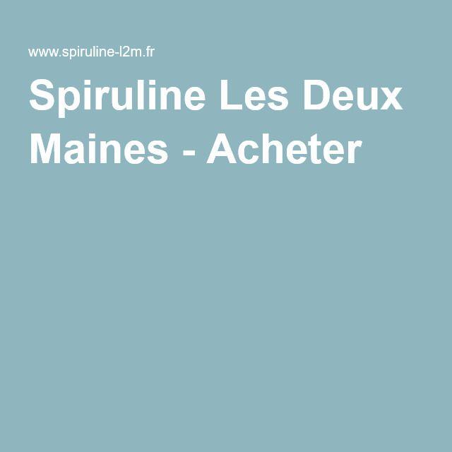 Spiruline Les Deux Maines - Acheter