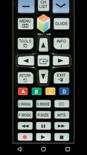 😨😠 I got so tired of  having to replace remote controls that I bought from the stores, I downloaded this one from the Play Store onto my cell phone. 🤗😍 I love it!  It's the best I've found yet! 😲 I tried three or four others & they worked for a while & then stopped !😣😠This is the best & it's free!❤👏👏 😅😊😀 TV Remote Control for Samsung- screenshot thumbnail