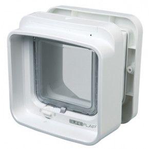 Sureflap Chatière à Puce électronique DualScan blanc