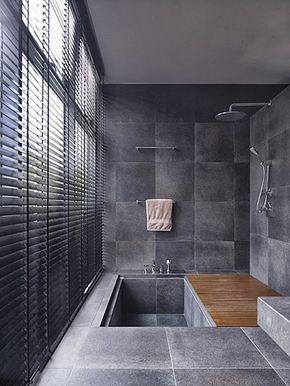 petite salle de bains avec baignoire douche 27 id es sympas salle de bain originale. Black Bedroom Furniture Sets. Home Design Ideas