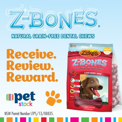 Our fans loved the natural fresh breath the Zuke's Z-Bones gave their Buddy! Read the reviews here!